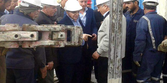 Photo of بتوجيه من الأسد… وفد حكومي يزور القلمون