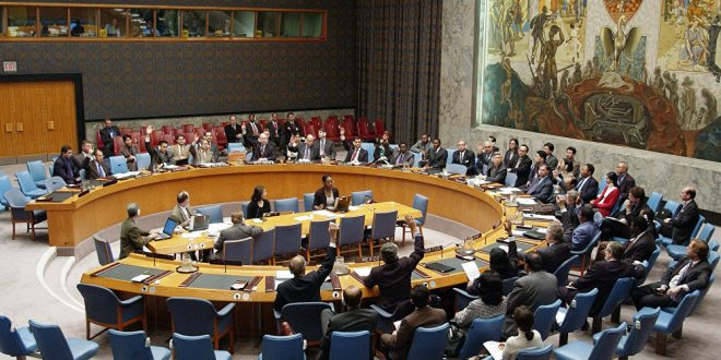 Photo of اجتماع لمجلس الأمن لبحث تمديد عمل البعثة الدولية بسوريا