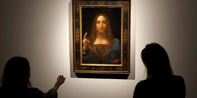 Photo of لوحة تباع في المزاد بـ 450.3 مليون دولار