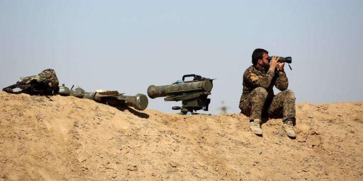 """Photo of 25كم فقط ويكون طريق """"ديرالزور – الميادين – البوكمال"""" تحت سيطرة الجيش"""