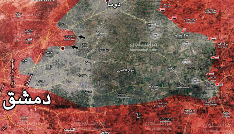 Photo of الجيش يحبط هجوماً إرهابياً على مواقعه في حرستا