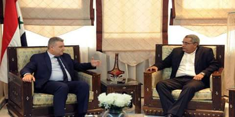 Photo of Tourjman , Miranda discuss Syrian-Cuban media cooperation