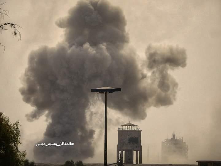 Photo of غارات جوية مكثفة على جوبر