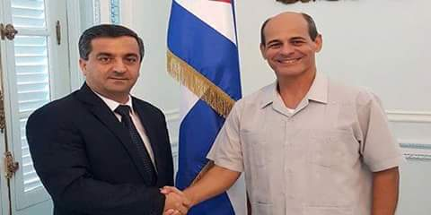 Photo of Cuba renews standing by Syria in facing terrorist war