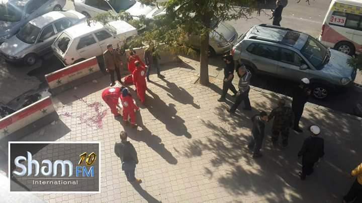 Photo of شهداء بقصف إرهابي على ساحة السبع بحرات بدمشق