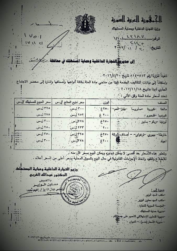 Photo of الأسعار الجديدة لبعض المواد الغذائية