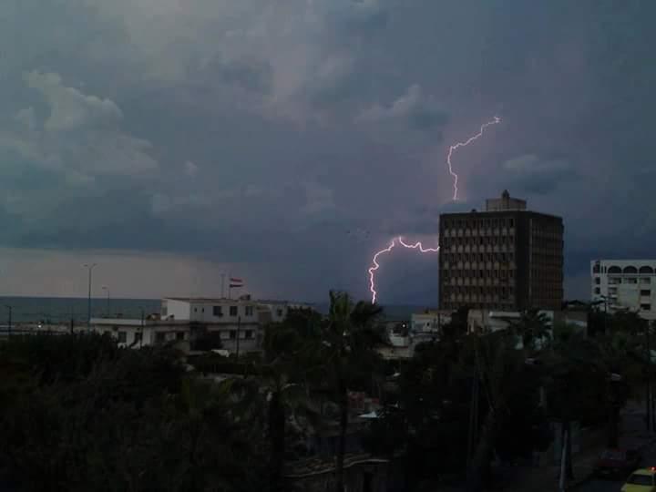 Photo of هطولات مطرية غزيرة بطرطوس