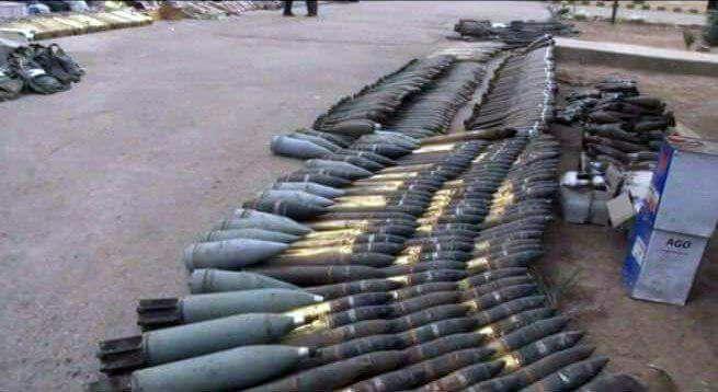 Photo of العثور على مخبر لتصنيع المواد السامة وذخائر بدير الزور
