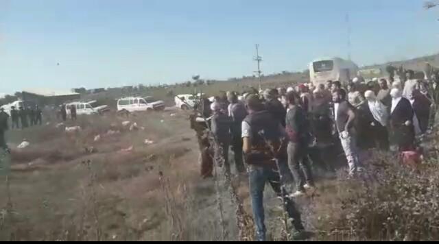 Photo of الاحتلال الاسرائيلي يداهم أراضي مزارعي الجولان السوري المحتل