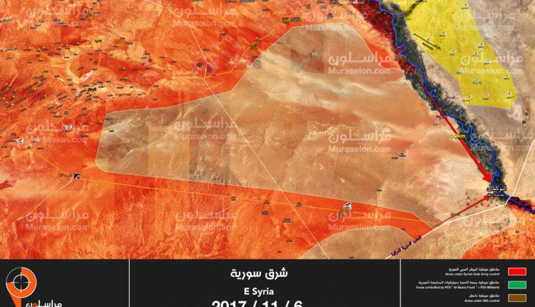Photo of بالخريطة – الجيش يؤمن محيط محكان شرق الميادين ويستعد للتقدم باتجاه البوكمال