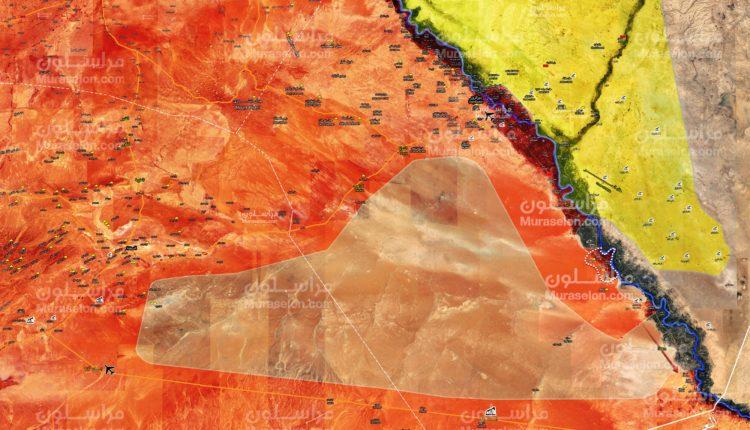 Photo of خريطة تقدم الجيش في البوكمال