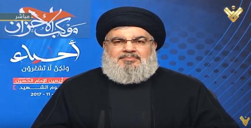 """Photo of نصر الله: السعودية طلبت من """"اسرائيل"""" ضرب لبنان ونحذر العدو من استغلال الوضع"""