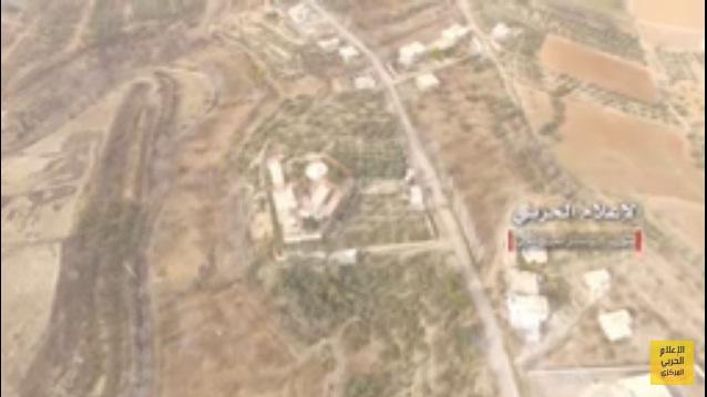 """Photo of مشاهد جوية لمنطقة """"الهنكارات"""" عند مدخل بيت جن"""