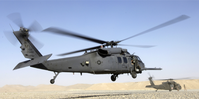 Photo of US occupation's helicopters abduct a person in al-Shahil village, Deir Ezzor countryside