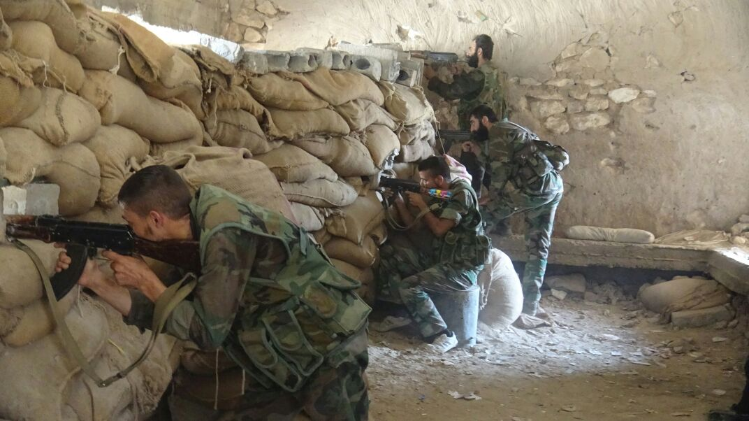 Syrian Army thwarts terrorists' infiltration attempts towards military posts in Hama Countryside
