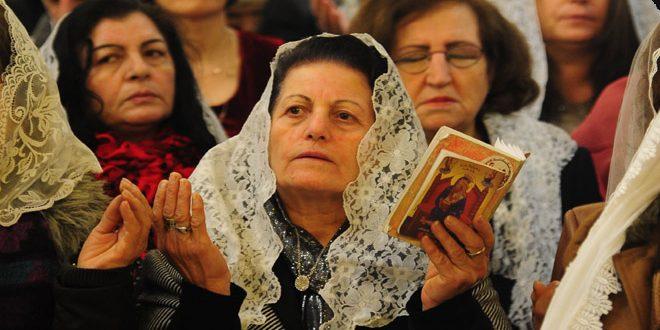 Photo of الطوائف المسيحية تحتفل بعيد الميلاد المجيد: سورية تشهد تحقيق النصر على الإرهاب