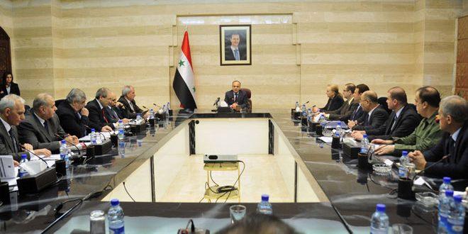 """Photo of الحكومة تدرس مشروع """" سوريا ما بعد الأزمة"""""""