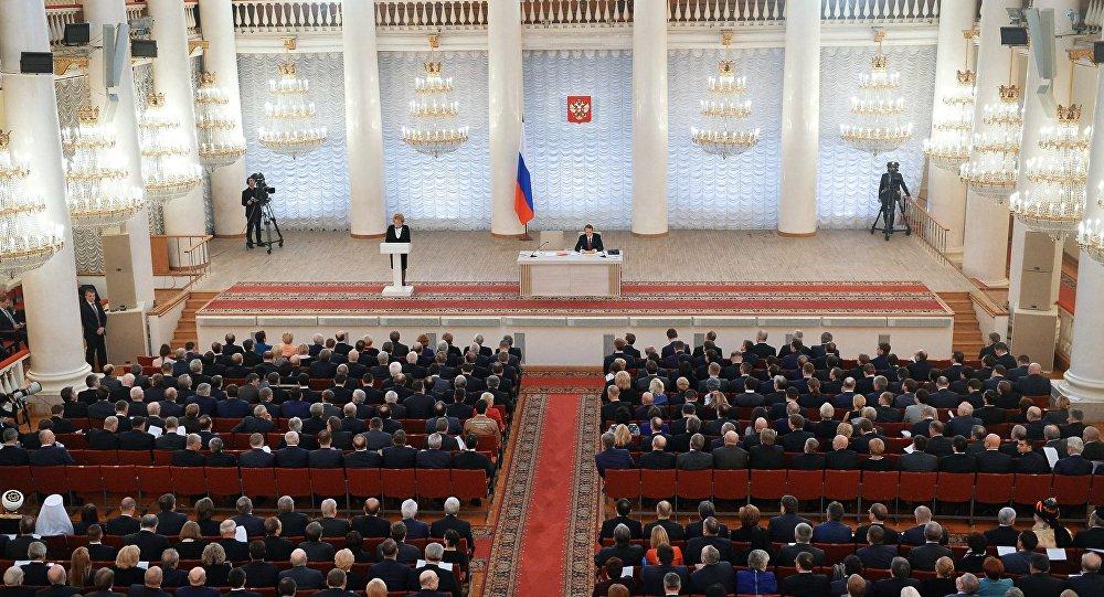 Photo of البرلمان الروسي: تصريحات ترامب حول الإنجازات في سوريا لا تتفق مع الواقع
