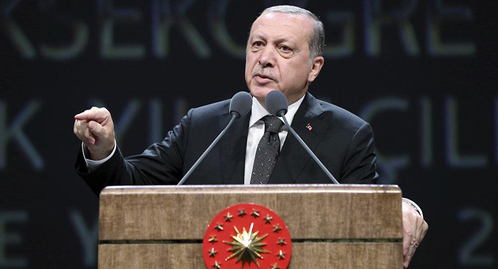 Photo of أردوغان: الإرهابيون الذين غادروا الرقة أرسلوا إلى مصر