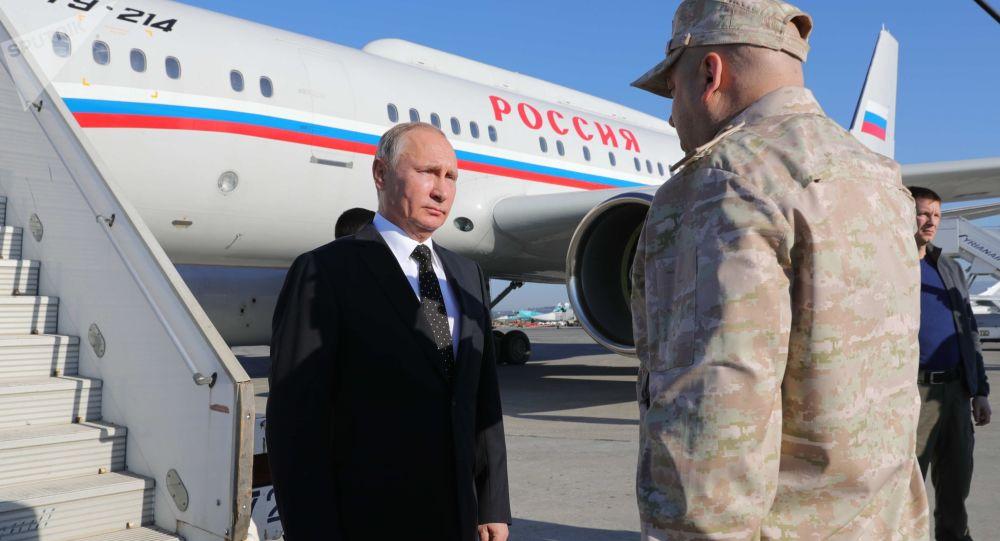 Photo of بوتين يكشف تفاصيل زيارته إلى حميميم