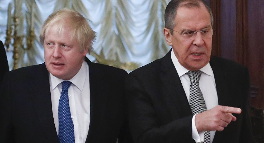 Photo of لافروف: العلاقات بين موسكو ولندن متدنية جدا
