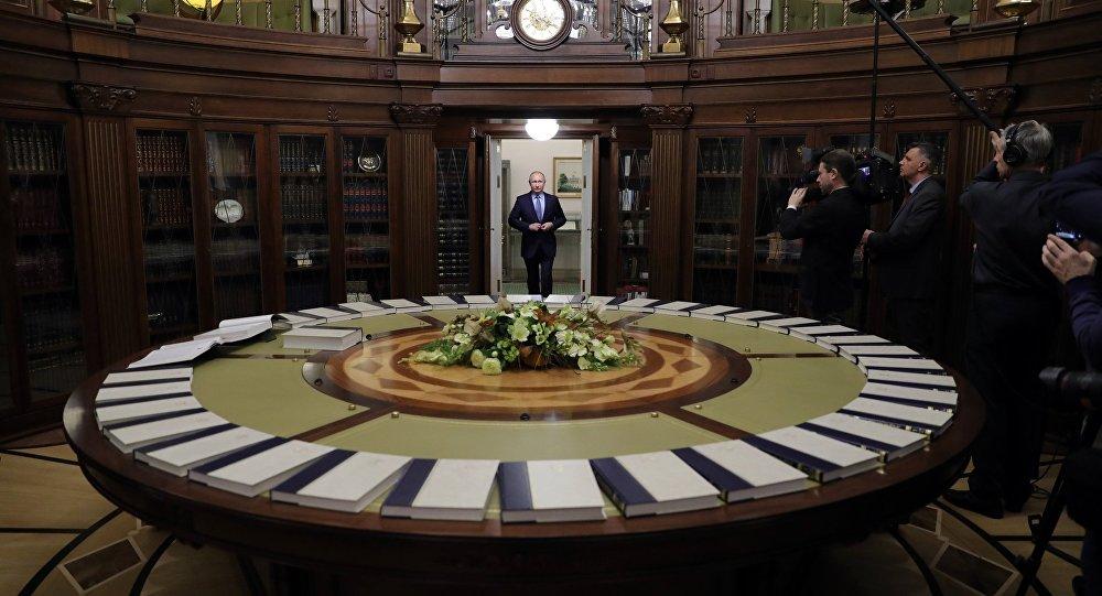 Photo of بوتين يعقد اجتماعا مع مجلس الأمن الروسي حول سوريا