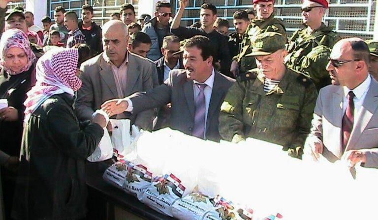 Photo of مساعدات روسية لأهالي عالقين بريف درعا