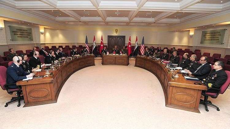 "Photo of ملف سورية على طاولة اجتماع عسكري ""أمريكي عراقي تركي"" في أنقرة"