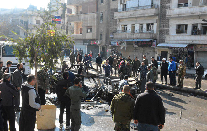 Photo of Five killed, 12 others injured in explosion of explosive device in Ekrema neighborhood, Homs