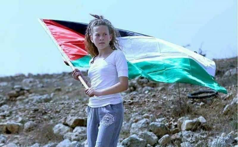 """Photo of الاحتلال الإسرائيلي يعتقل الطفلة """"عهد التميمي"""""""