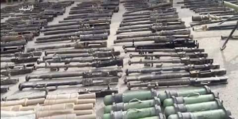 Photo of Syrian Army discovers US and European weapons in Deir Ezzor countryside
