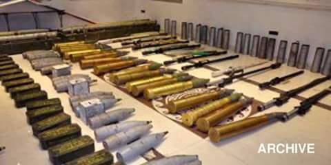 Photo of Authorities seize munitions left behind Daesh in Palmyra surroundings