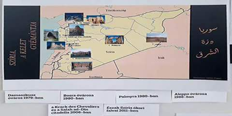 """Photo of """" Syria, Pearl of East"""" exhibition opened in Hungarian city of Szolnok"""