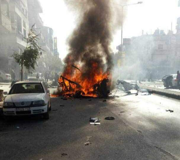 Photo of تفجير إرهابي بحمص