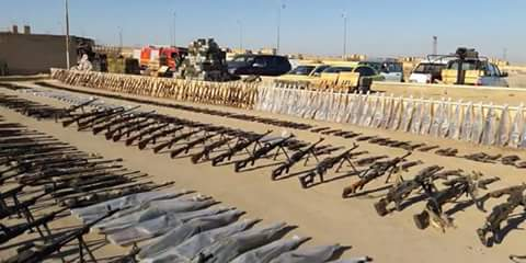 Photo of Syrian Army discovers car bombs and US and Israeli-made equipment in Daesh hideouts in Deir Ezzor