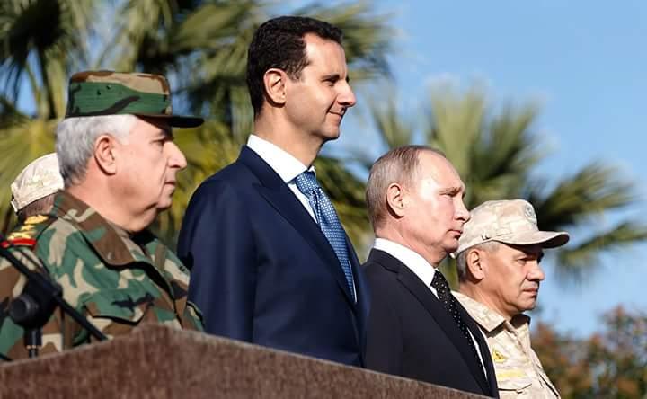Photo of بالفيديو- بوتين بضيافة الأسد ويزور قاعدة حميميم