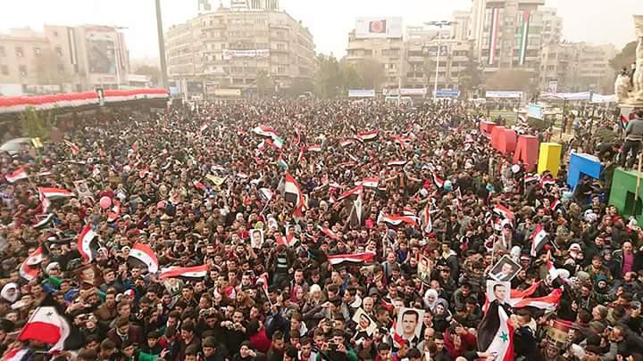 Photo of حلب تحتفل بمناسبة مرور عام على تحريرها من الإرهاب