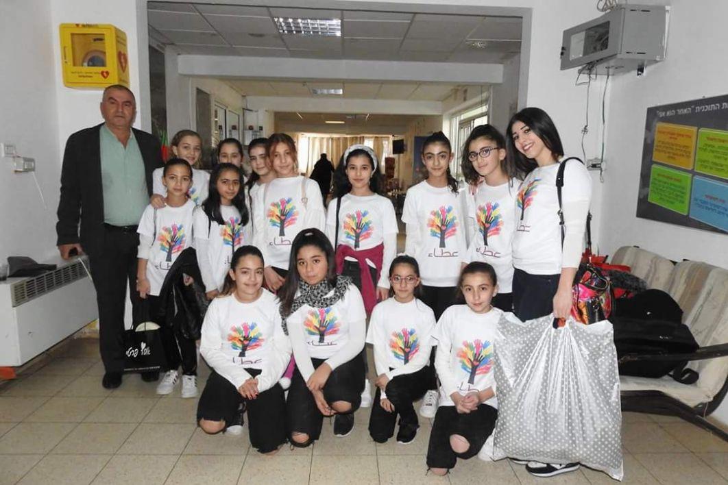 Photo of الاخر هو انا مشروع تربوي انساني بين مدرسة بقعاثا الابتدائية والامل ابو سنان