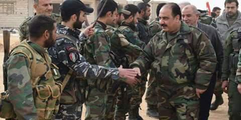 Photo of Delegated by President Bashar al-Assad, al-Hilal visits Deir Ezzor, Palmyra and al-Sukhnah