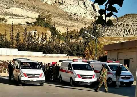 Photo of تشييع شهداء المروحية التي سقطت قرب كناكر