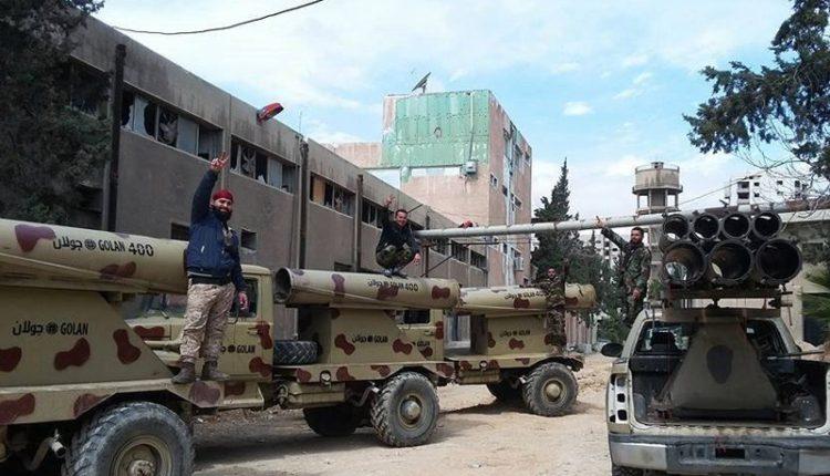 Photo of ماهي أسلحة الجيش بمعارك الغوطة؟