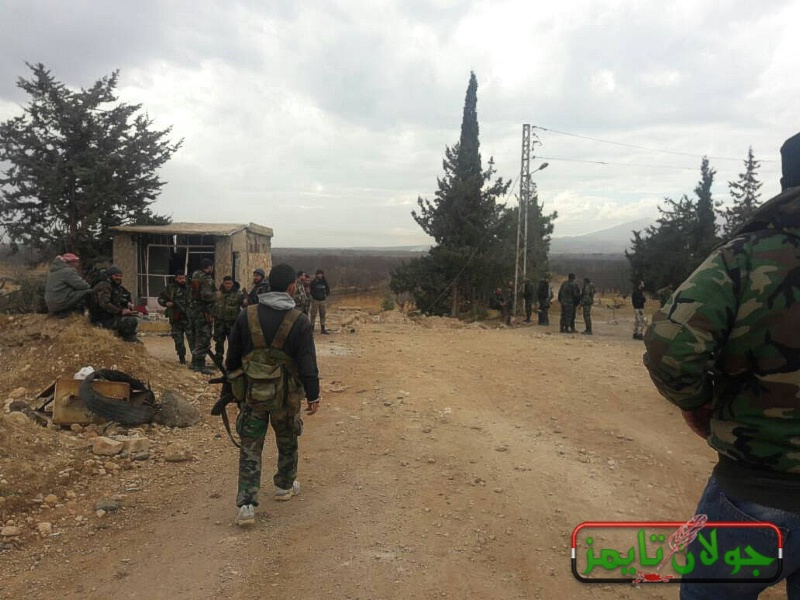 خلود حسن توثق بالصوت والصورة طبيعة معركة بيت جن