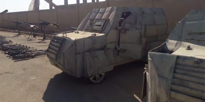Photo of بالفيديو- مدرعات واسلحة أميريكية لداعش بدير الزور
