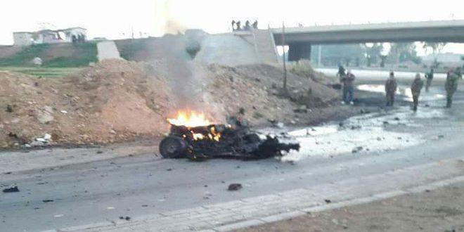 Photo of إحباط عملية إرهابية عند المتحلق الجنوبي بدمشق