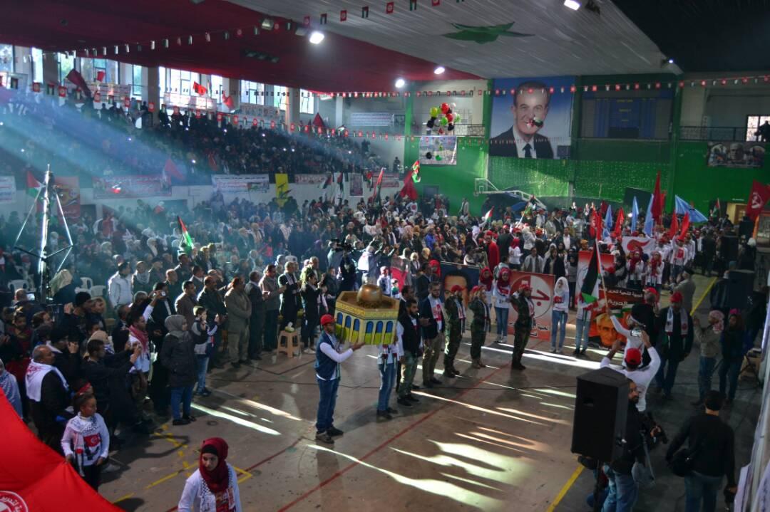 Photo of من مهرجانٍ احتفاليّ إلى يوم غضب فلسطيني في دمشق