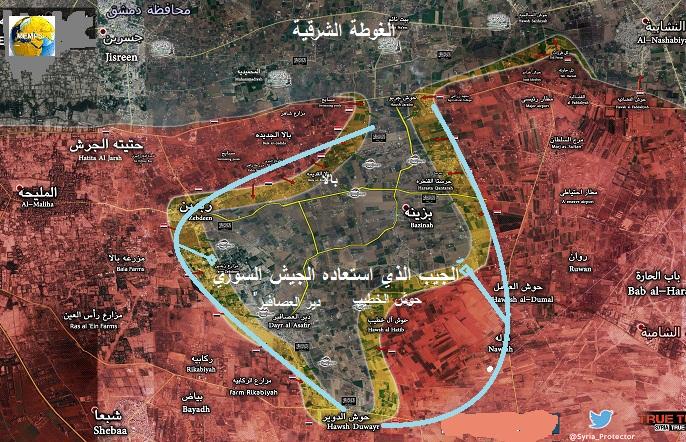 Photo of قرار عسكري سوري روسي ايراني باستعادة كامل الغوطة الشرقية