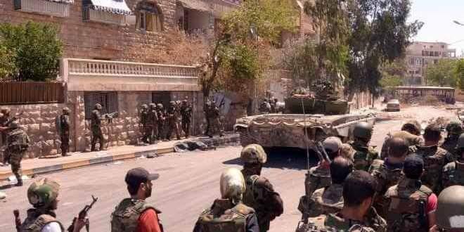 Photo of أبناء الكسوة يلتحقون بصفوف الجيش العربي السوري