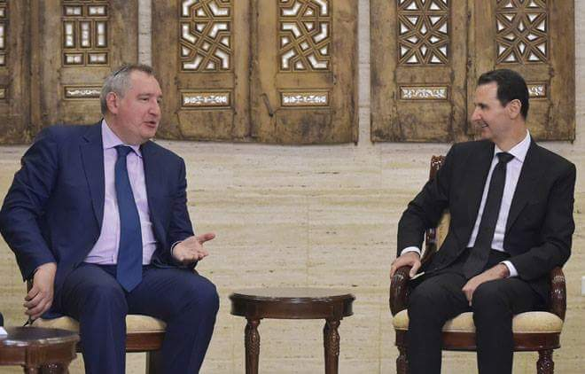 Photo of الأسد يجتمع بوفد حكومي اقتصادي روسي