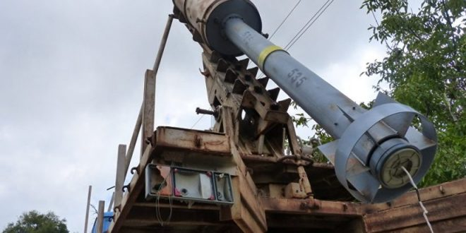 """Photo of """"الفيل"""".. صاروخ محلي الصنع يصدح صوته من حرستا إلى جوبر"""