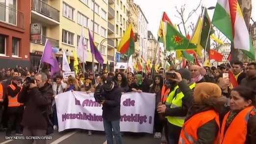 Photo of ألمانيا.. تظاهرة غاضبة استنكاراً للهجوم التركي على عفرين